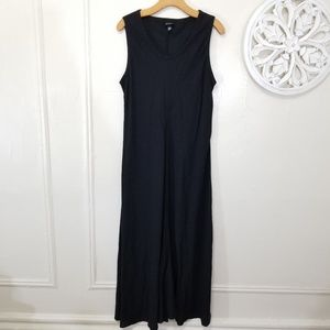 Eileen fisher size L linen blend maxi dress